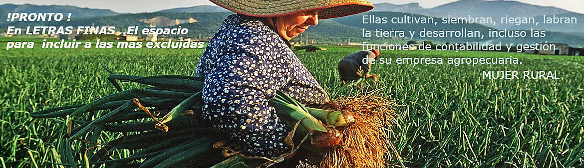 banner  mujer  rural